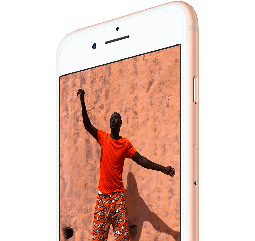 Retina Display des iPhone 8 mit True Tone