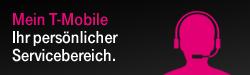 Mein T-Mobile - Ihr persönlicher Servicebereich