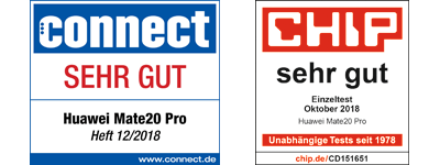 Awards: Connect sehr gut, Chip sehr gut