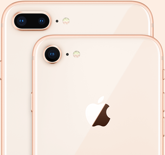 Kameras des neuen iPhone 8 und iPhone 8 Plus