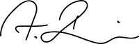Unterschrift Andreas Bierwirth